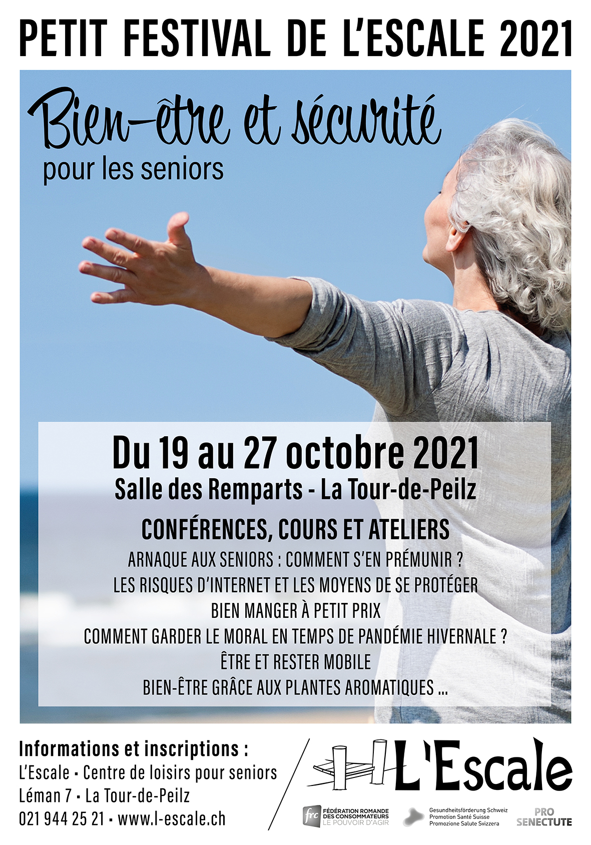 Du 19 au 27 octobre 2021: Festival de L'Escale
